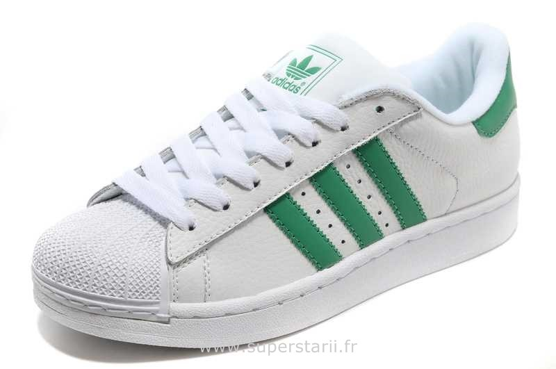 superstar femme adidas vert
