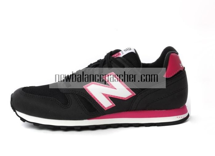 new balance 373 femme noir et rose
