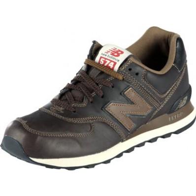 new balance 574 homme cuir marron