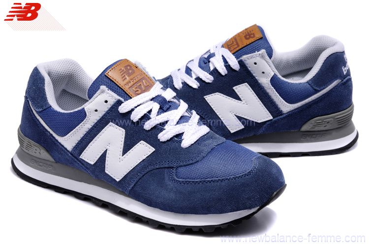 new balance 574 hommes bleu